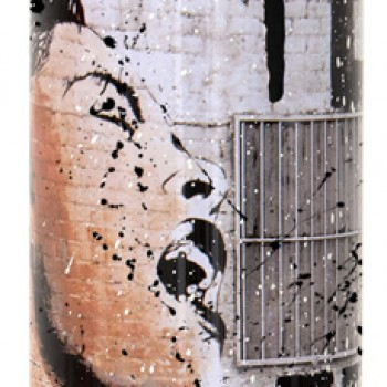 Billie is Beautiful- Black> Limited Spray Paint Can Artwork by Mr Brainwash