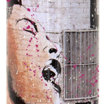Billie is Beautiful- Magenta> Limited Spray Paint Can Artwork by Mr Brainwash