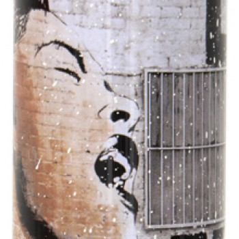 Billie is Beautiful- White> Limited Spray Paint Can Artwork by Mr Brainwash