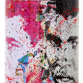 Champ- Red> Limited Spray Paint Can Artwork by Mr Brainwash