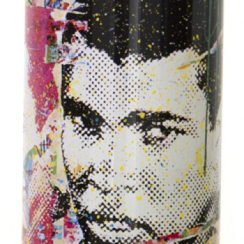 Champ- Yellow> Limited Spray Paint Can Artwork by Mr Brainwash