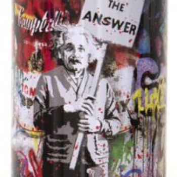 Love is the Anwser- Red> Limited Spray Paint Can Artwork by Mr Brainwash
