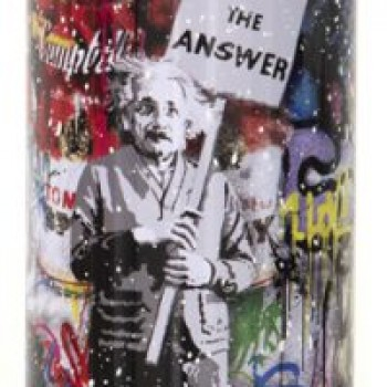 Love is the Anwser- White> Limited Spray Paint Can Artwork by Mr Brainwash