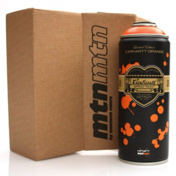 Carhartt- Orange> Montana MTN Spray Paint Can Limited Edition