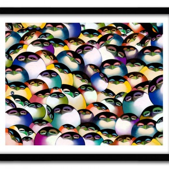 A Flock of Boogie> Limited Edition Print by Chor Boogie