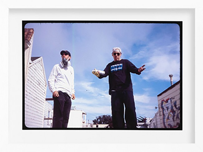 Dr. Revolt and Zephyr> Limited Edition Photo Print by Ricky Powell