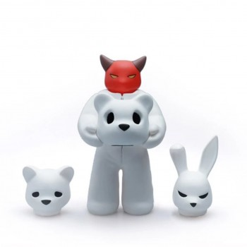 Headspace- Set 1> Limited Run Vinyl Art Toy by Luke Chueh