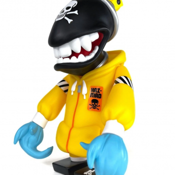 HazMad Spray Can Mutant> Limited Run Vinyl Art Toy by Jeremy MadL x Martian Toys