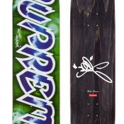 Lee Quinones Logo Deck- Blue