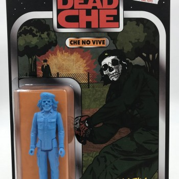 Che No Vive- Blue> Limited Run Resin Art Toy by Frank Kozik