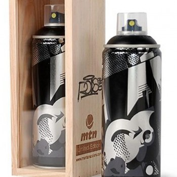 Roid- Black> Montana MTN Spray Paint Can Limited Edition