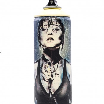 Salvage Can 10> Original Spray Paint Can Sculpture by Eddie Colla