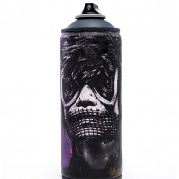 Salvage Can 11> Original Spray Paint Can Sculpture by Eddie Colla