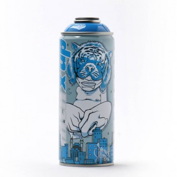 Sam Flores- Light Blue> Montana MTN Spray Paint Can Limited Edition