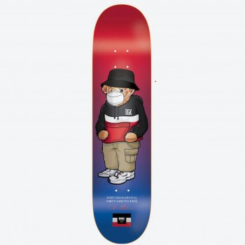 Shanahan Masked- 8.25> Limited Art Skateboard by DGK