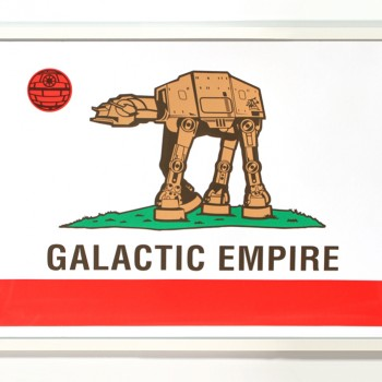 Galactic Empire> Limited Edition Print by Sket One