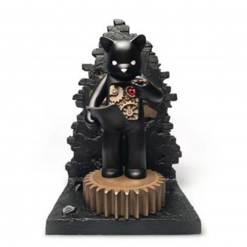 Target- Mechanics of Life- Black> Limited Run Vinyl Art Toy by Luke Chueh x Doktor A
