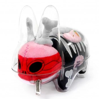 Vissible Labbit Plush Guts> Limited Run Vinyl Art Toy by Frank Kozik