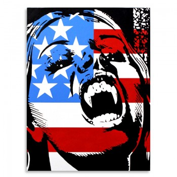 Vampire USA> Original Painting by Ben Frost