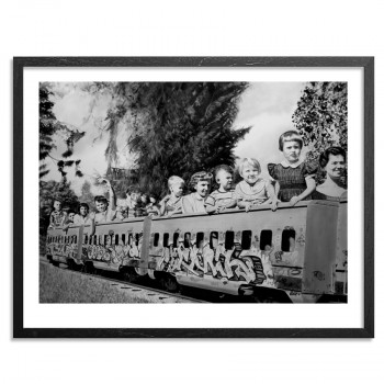 All Aboard> Limited Edition Print by David Lyle
