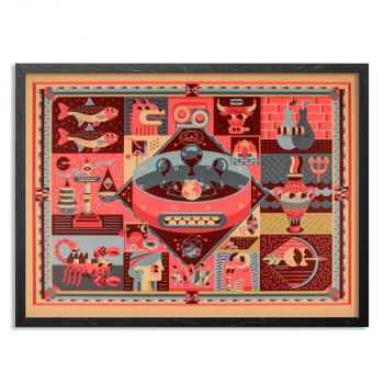 Zodiac> Limited Edition Print by Dxtr