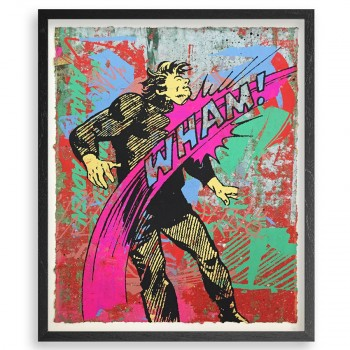 Knockout 11> Silkscreen HPM Artwork by Greg Gossel