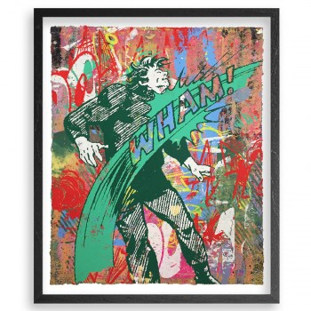 Knockout 17> Silkscreen HPM Artwork by Greg Gossel