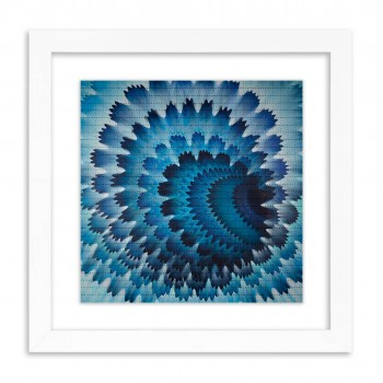 Vortex Portal> Blotter Paper Artwork Print Art by HoxxoH