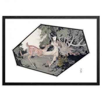 Sanctuary> Limited Edition Print by J.A.W. Cooper