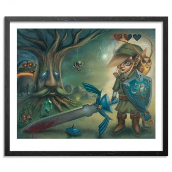 Link's Journey> Limited Edition Print by Jordan Mendenhall
