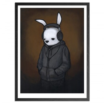 Headphones> Limited Edition Print by Luke Chueh