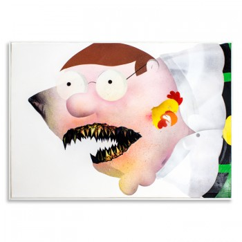 Ceci N'est Pas Une Peter Griffin> Original Painting by Shark Toof