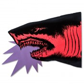 Shark Head- Red Fluorescent