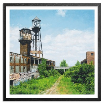 Dequindre Cut> Limited Edition Print by Stephanie Buer